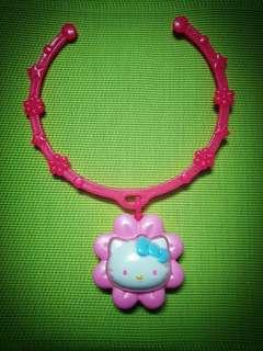 McDonald's Japan Hello Kitty Flower Necklace