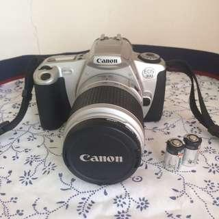 Canon EOS 300 35mm Film Camera with Lens
