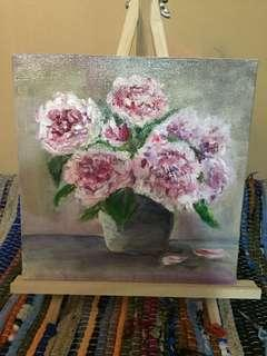 Impressionist Floral Painting