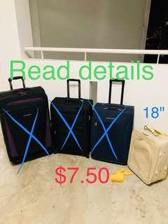 Kallang Cheap luggage trolley bag travel suitcase cabin hand carry on