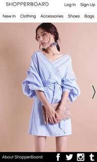 Neonmello NM alexandria ruffles dress