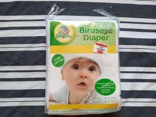 "Brandnew 12pcs 27"" x 27"" Looney Tunes Birdseye Diaper. Cheaper than Mall price"