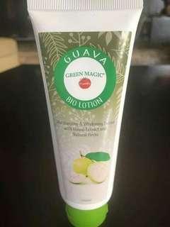 Green magic guava lotion