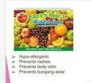 Green magic kiddie soap