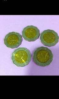 $5 Millennium Rare Coin