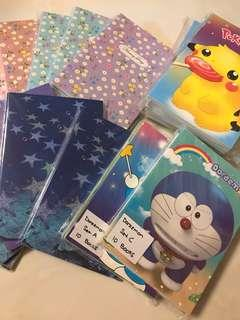 100pc A5 notebooks