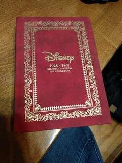 迪士尼行事曆記事本