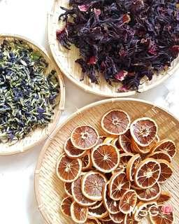 FRESHLY DRIED FRUIT & FLORAL TEA