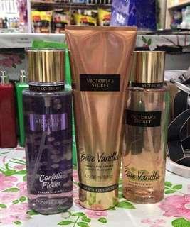 Order your Victoria Secret Fragrance Mist & Body Lotion