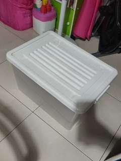 Storage Box with rollers