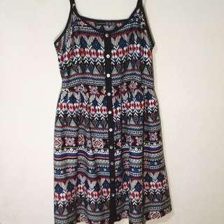Atmosphere Tribal/Aztec Printed Dress