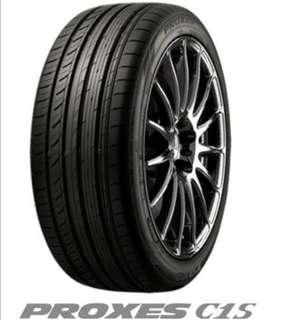 Tyre 245/45/18 toyo proxes c1s for sale ..clear stork cheap sale