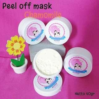 Peel of mask
