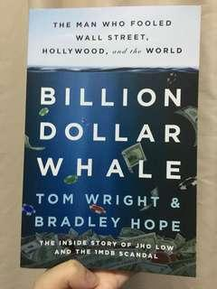 Signed Copy of Billion Dollar Whale