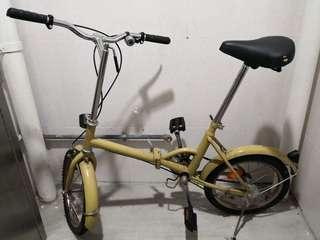新淨摺疊單車(清屋)