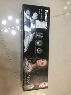 Panasonic two in one ion styling iron