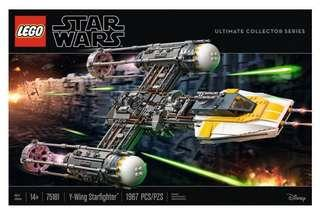Lego 75181 Star Wars Y Wing