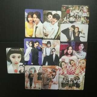 Twice WIL Showcase Duplicate pc 12pcs