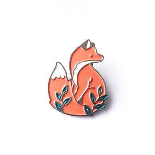 [BN, FREE 📮] Fox Enamel Pin