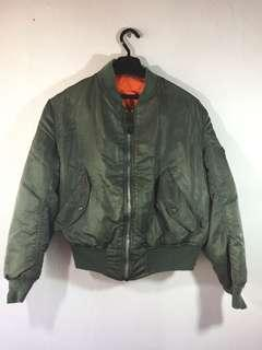 Alpha industries made in usa bomber jacket
