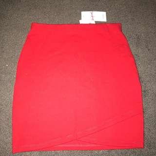 Supre Red Skirt Mini
