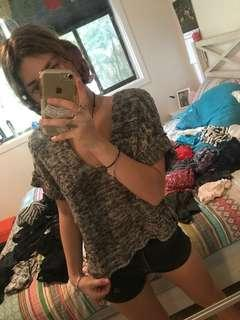 Roxy knitted top