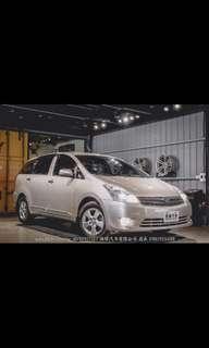 2008年 Toyota wish 七人座 定速Hid