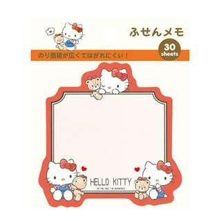 Hello Kitty Red sticky notes /post its