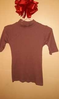 Maroon Shirt (closed neck)