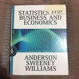 Statistics for Business and Economics Eight (8th) Edition by Anderson Sweeney Williams