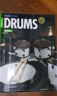 RockSchool Drums Grade 2 and 3 Book