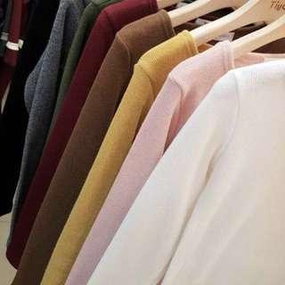 韓國製」內刷毛保暖衣發熱衣