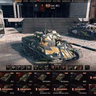 World Of Tanks Account For Takeover