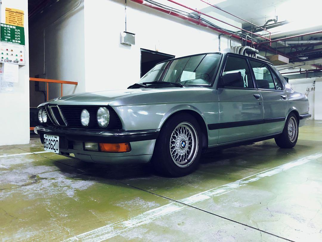 1987 bmw 520i e28 全車極美