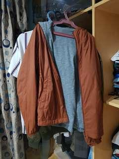 Reversable jacket from Uniqlo