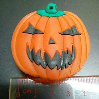 萬勝節 南瓜 閃燈 扣針 襟章 黴章 閃燈 Halloween 玩具 燈色 飾物 裝飾 橙色 小飾物 節日慶祝 小朋友