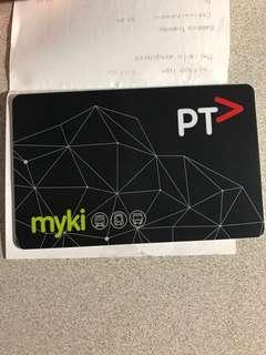 Melbourne Tram Card (Myki)