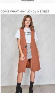Shopcopper Long  Line Vest