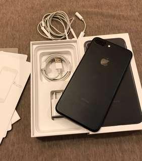 9成新 IPhone 7 Plus 128g 耀石黑