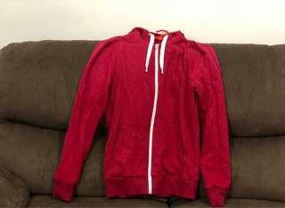H&M Maroon Hooded Jacket