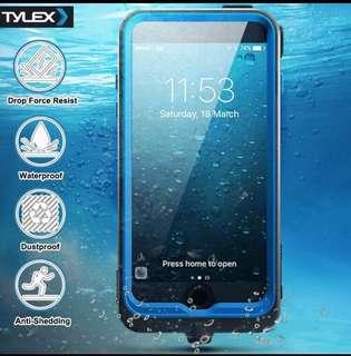 Tylex K206 Heavy-Duty Waterproof full body Case Cover IPhone6Plus |6S Plus (black)