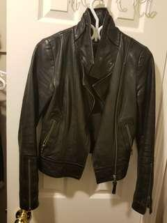Aritzia Mackage Kenya Genuine leather biker jacket xs