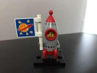 Lego series 17 Rocket Boy minifigure minifig costume