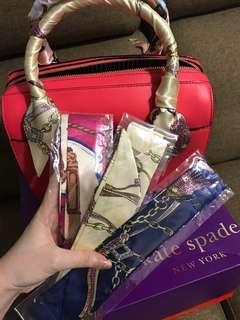Bag handle scaf