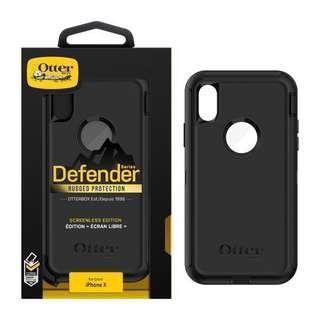 Otter Iphone X casing (Black)