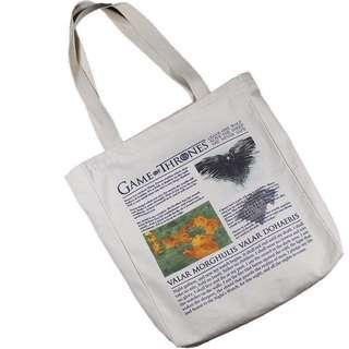 Game of Thrones Canvas Tote Bag