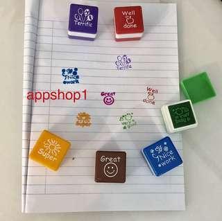 Children stamp - preschool goodies favors, goody bag gift