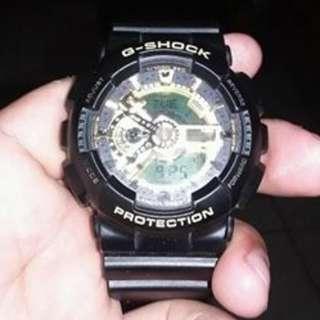 Casio Gshock GA110 Gold RUSH