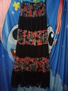 Tube floral Dress STRETCHABLE