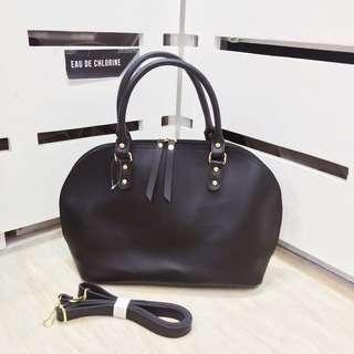 Greta Black Handbag Black Bag Tote Bag Black Sling Bag Office Bag